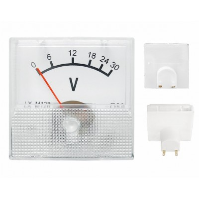 Analogic voltmeter 0-30V