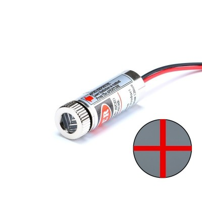 650nm 5mW Red Laser Line Module Glass Lens