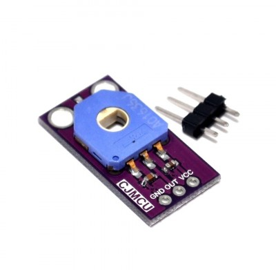Potentiometer module with hole