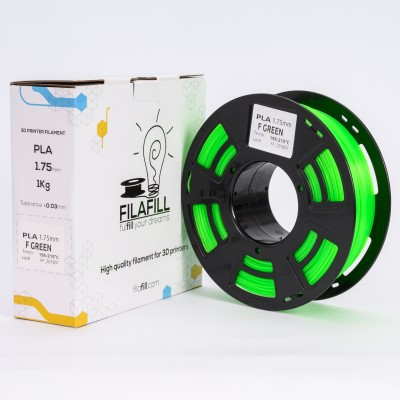 PLA Filament - PREMIUM - F Green - 1Kg - 1.75mm