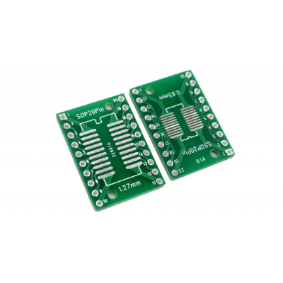 Placa adaptoare SOP20 - DIP