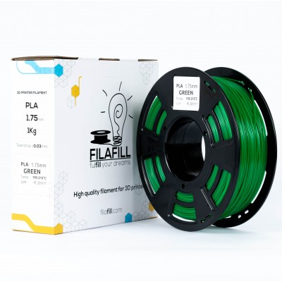 PLA Filament - PREMIUM - Green - 1Kg - 1.75mm