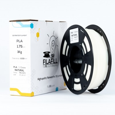 Filament PLA - PREMIUM - Natural - 1Kg - 1.75mm