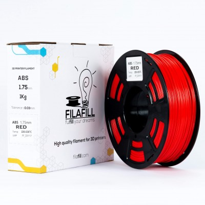 Filament ABS - PREMIUM - Rosu - 1Kg - 1.75mm