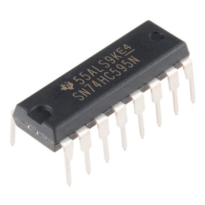 IC Shift register SN74HC595N 74HC595