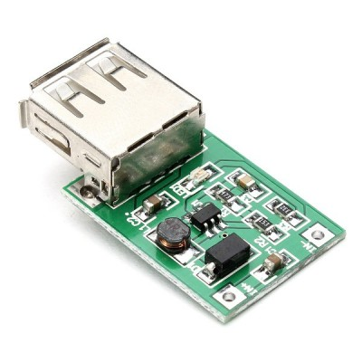 Mini DC-DC Boost Converter 0.9V~5V to 5V 600MA USB Output (step up)