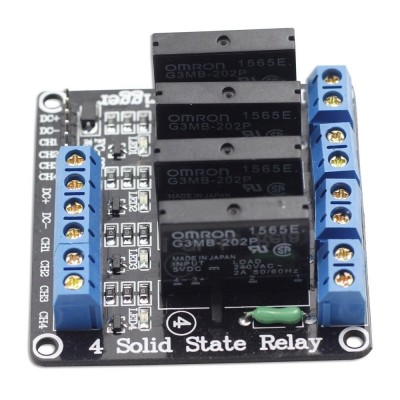 Releu Solid state 4 canale