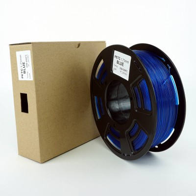 PETG filament - PREMIUM - Blue - 1Kg - 1.75mm