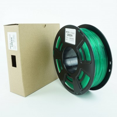 PETG filament - PREMIUM - Green - 1Kg - 1.75mm