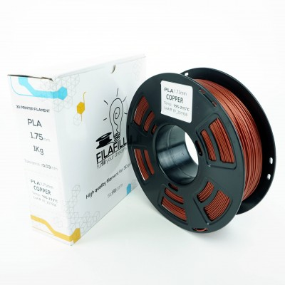 PLA Filament - PREMIUM - Copper fill - 1Kg - 1.75mm
