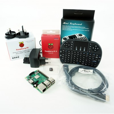 Complete kit Raspberry Pi 3B+
