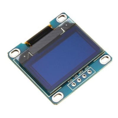 "Display OLED 0.96"" I2C IIC Albastru"