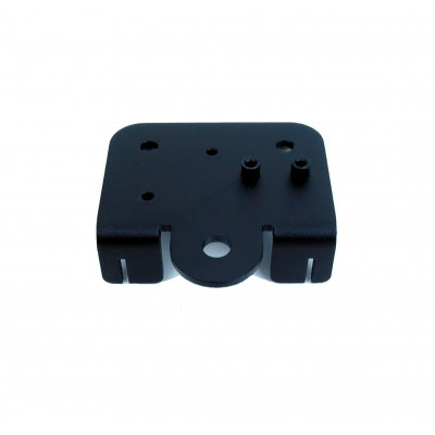 Extruder back support plate