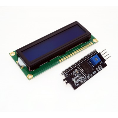 LCD Display 1602 + i2c adapter