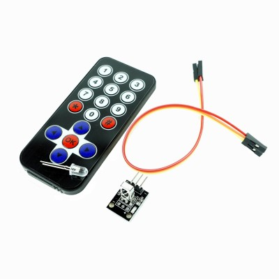 KIT IR remote control + receiver + cable
