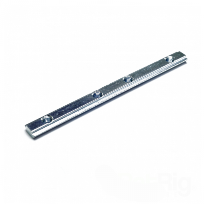 T-Nut - Butt style linear connector (4 hole)